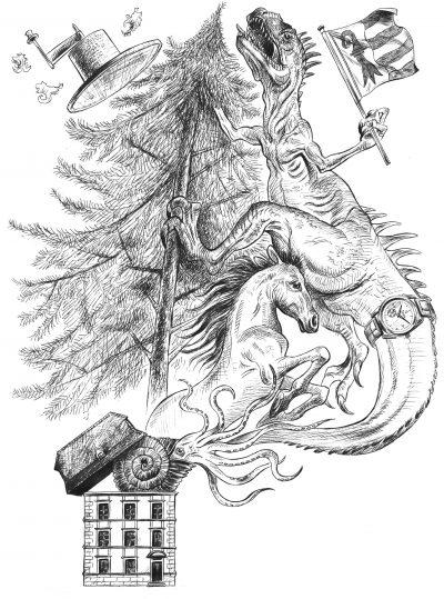Jura - Pesto - Pierre Estoppey - Illustrateur