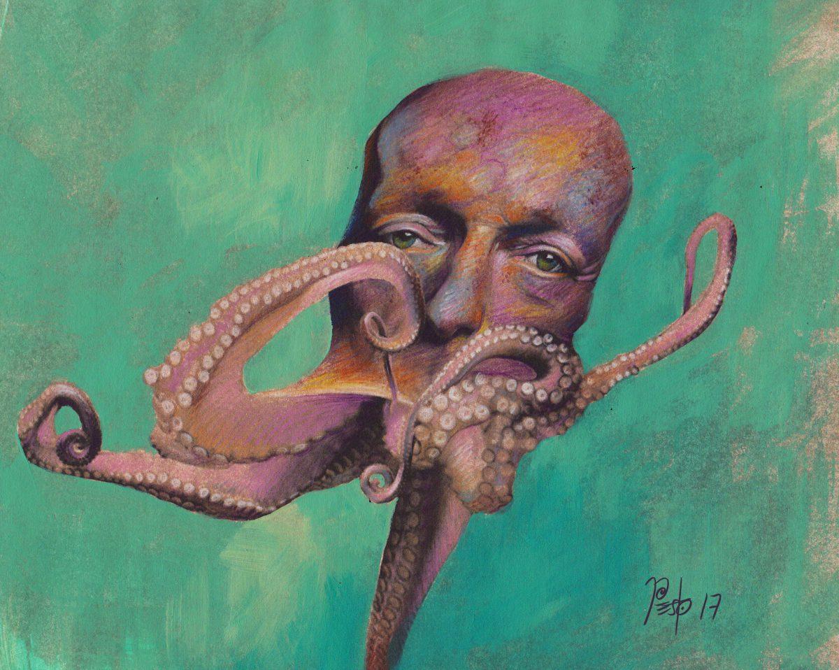 Poulpe - Pesto - Pierre Estoppey - Illustrateur